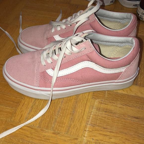 Vans old skool pink 713c656f69d3